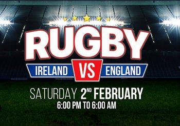 RUGBY – Ireland vs England